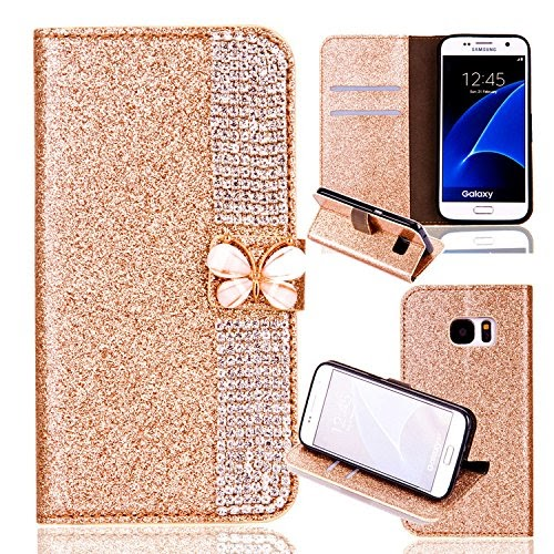 Samsung Galaxy S8 Leather Case,Samsung S8 Flip Wallet Case,Samsung Galaxy S8 Cover with 5.8 inch,Cool...