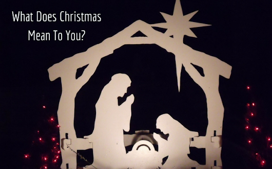 How Much Of Your Christmas Celebration Is Actually About Christ?