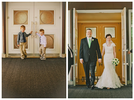 Las Vegas Temple Wedding- Lauren and Abram