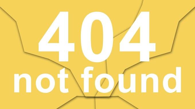 Página de erro 404 not found: o que é e como resolver