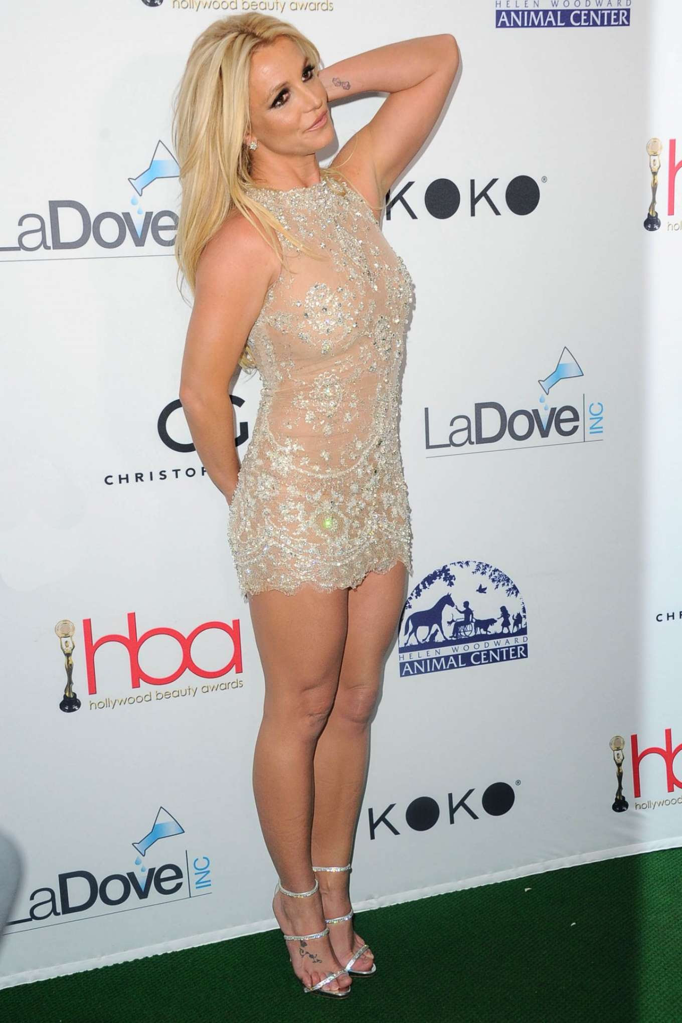 Britney Spears – 2018 Hollywood Beauty Awards in Los Angeles