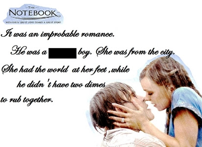 What Is The Missing Word The Notebook Trivia Quiz Fanpop