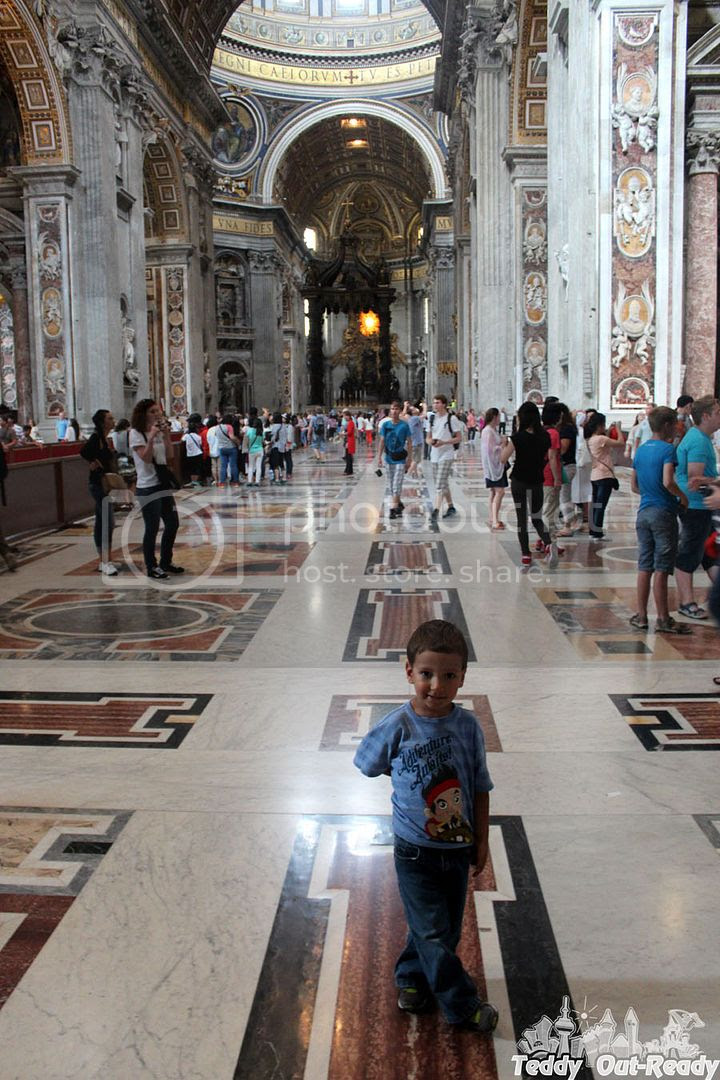 St Peter's Basilica entrance