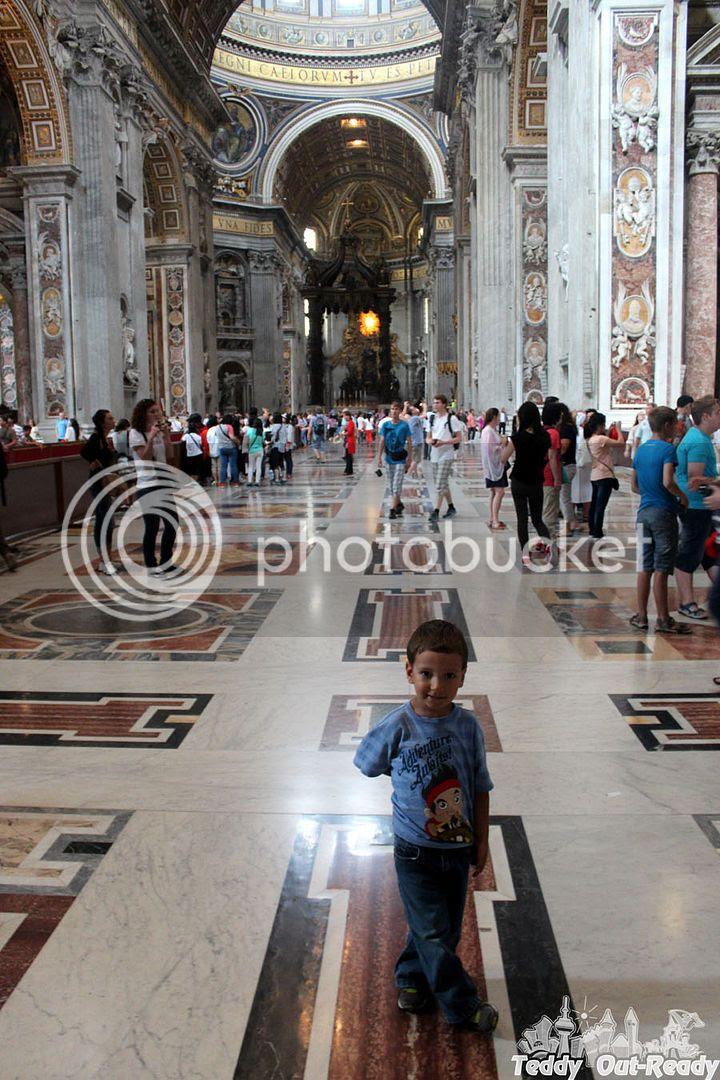 St Peter's Basilica entrance