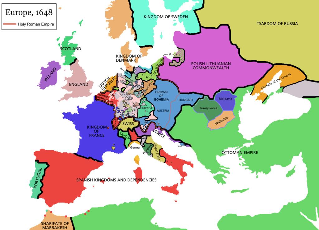 Fileeurope Map 1648 Png Wikimedia Commons