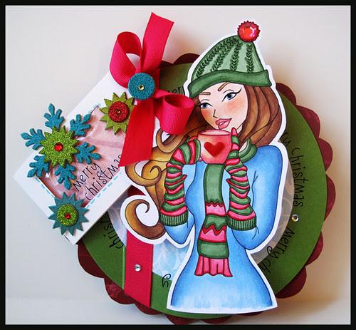 Merry Christmas sassy card