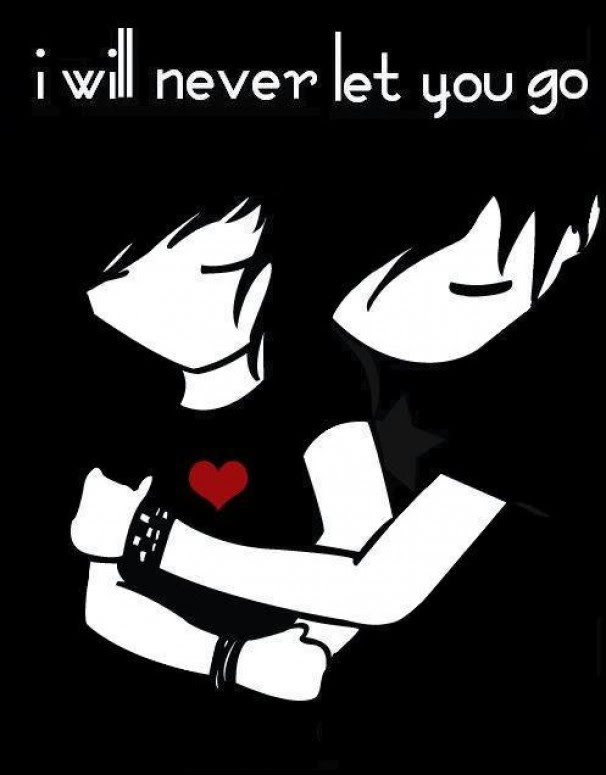 Emo Love Pictures Cartoon Love Pictures Gallery