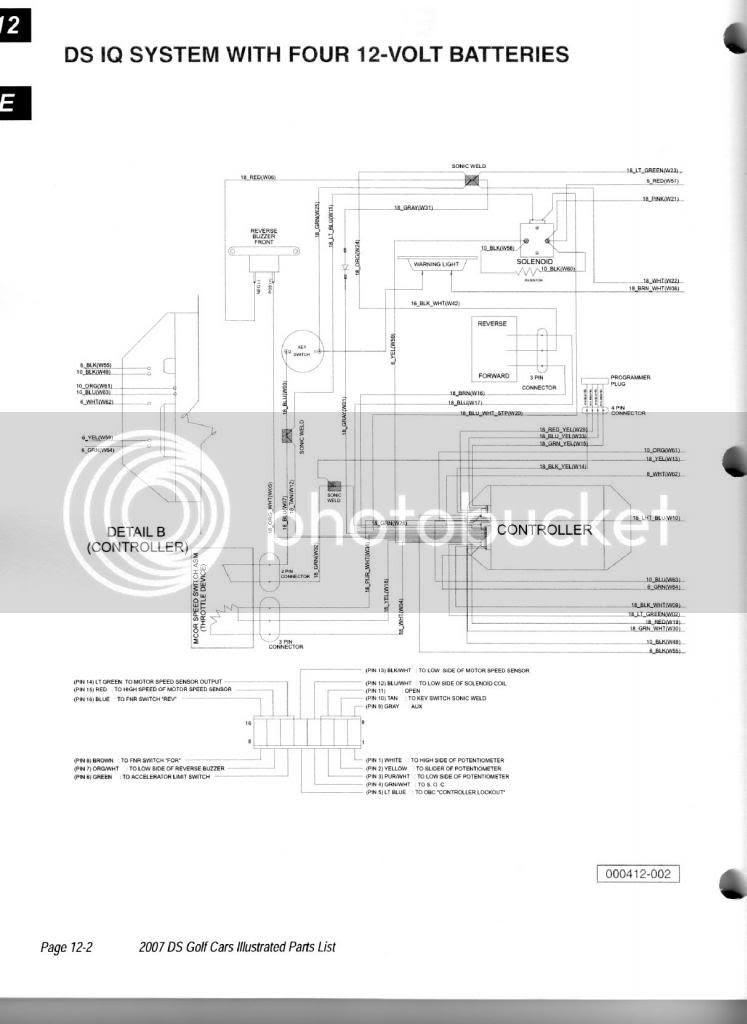 Wiring Diagram: 27 Club Car Ds Wiring Diagram