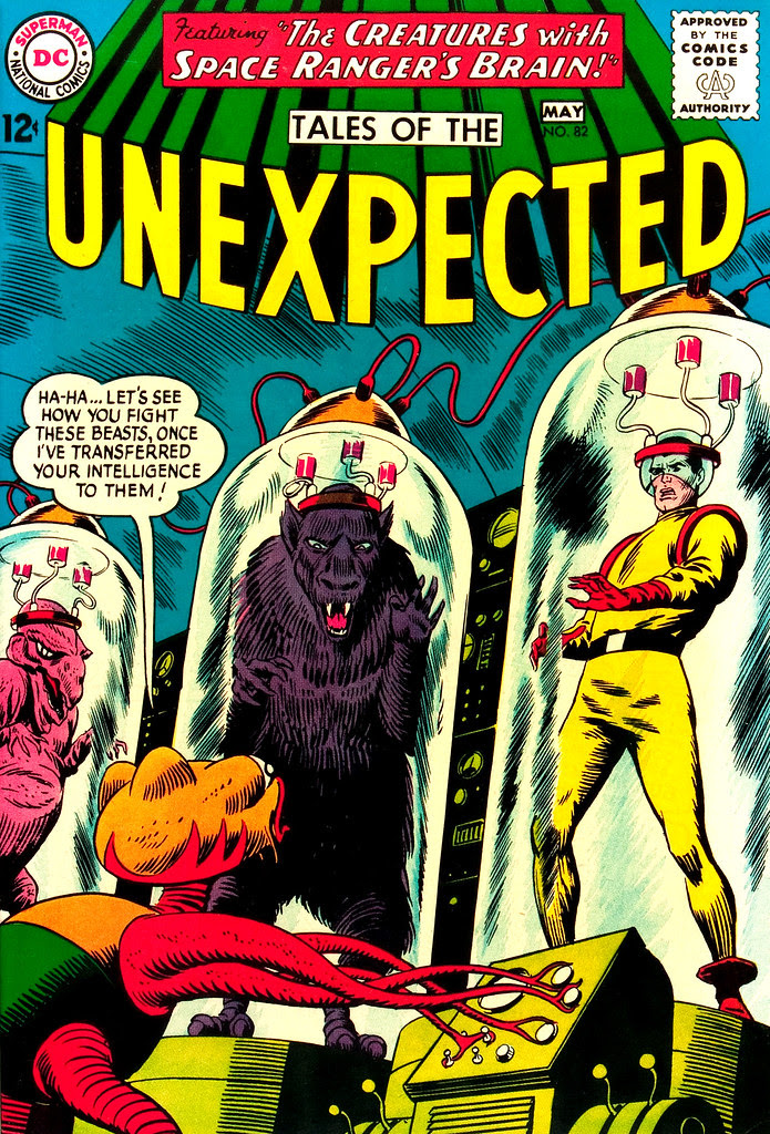 Tales of the Unexpected #82 (DC, 1964) Bob Brown cover