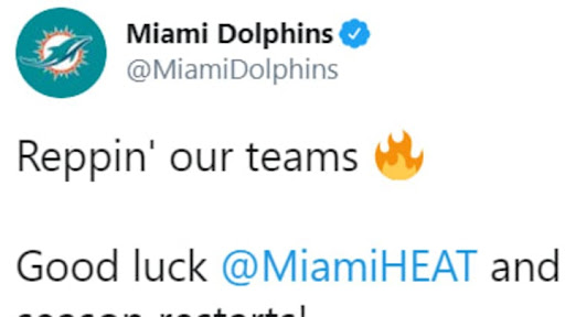 Avatar of Dolphins Give Shoutout to Miami Heat and Florida Panthers With Amazing Crossover Jersey Concepts on Twitter