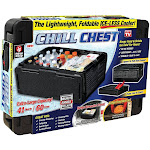 Chill Chest Cc-mc3 Collapsible Stackable Ice-less Cooler, As Seen On Tv
