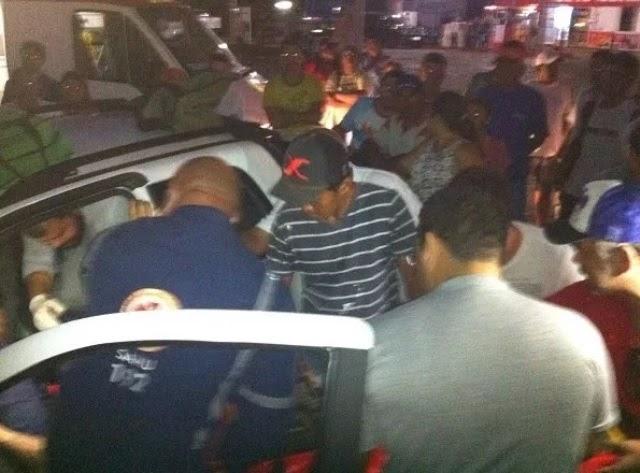 Monsenhor Lucena se envolve em acidente na BR 406 em frente o posto João Câmara