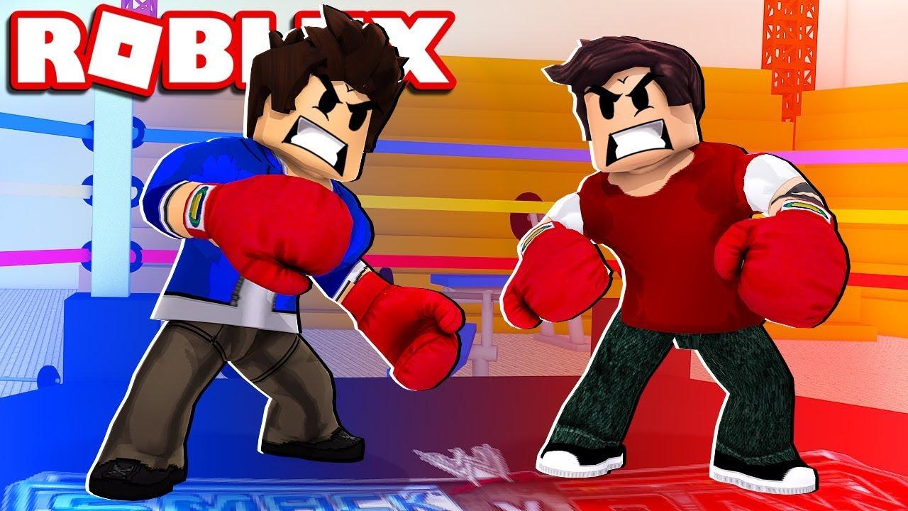 Roblox Lutando Boxie Ro Boxing - roblox viramos o homem de ferro iron man battles