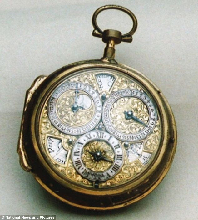 This timepiece from Tompion dates back to 1710 and is said to be worth £5,000