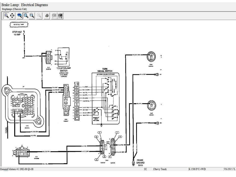 Wiring Diagram Of Lighting On 94 Chevy 1500 2wd