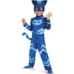 Disguise PJ Masks Catboy Classic Child Costume, Royal Blue/Ultra Light Blue