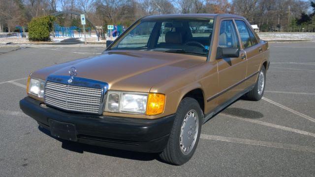 1987 Mercedes Benz 190d 2.5 TURBO diesel for sale ...
