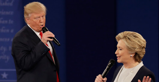 Stop what you are doing and watch Trump and Clinton sing Time Of My Life - The Poke