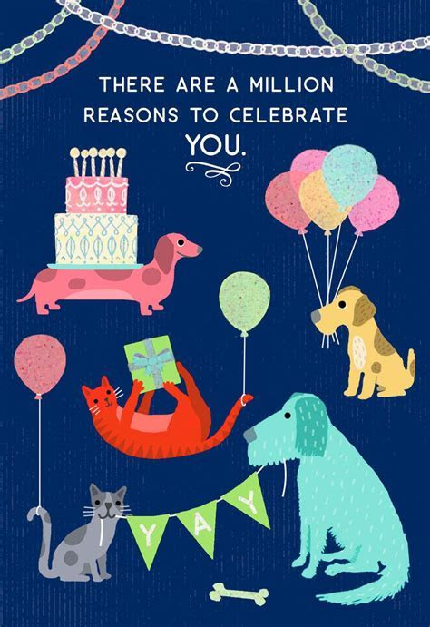 A Million Reasons to Celebrate You Birthday Card