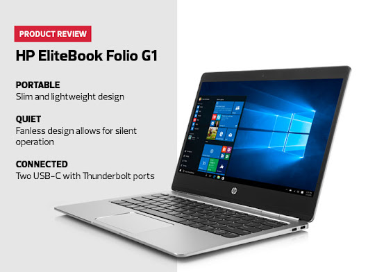 Product Review: HP EliteBook Folio G1 Performs Innovatively