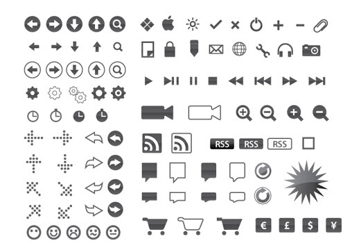 Know About Web Designing: 31 Free Clean Icon Sets For