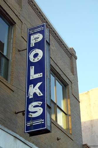 polks sign in crockett