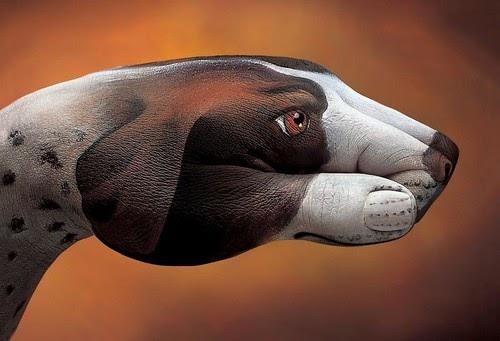 Beagle as Hand Art