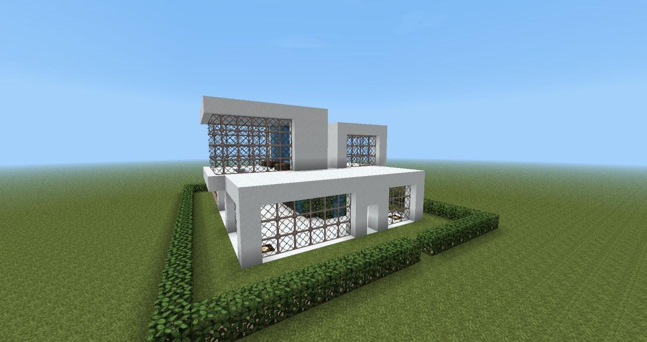 Most Popular 36 Modern House Design Minecraft