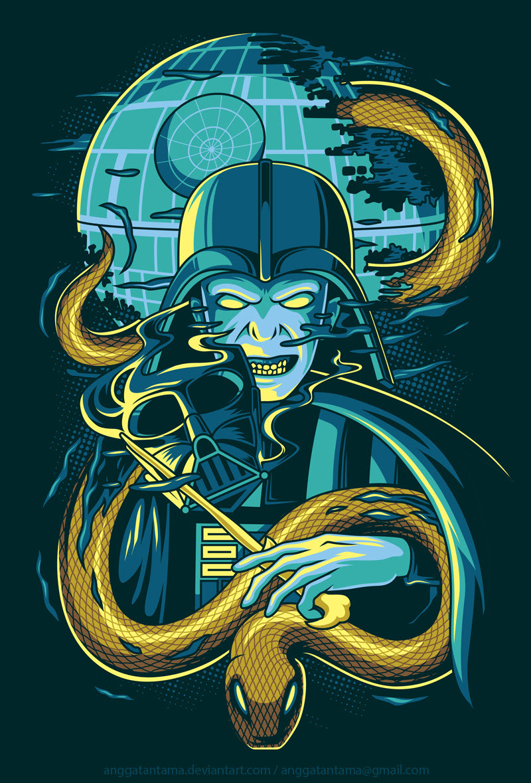 Welcome to the Dark Side byAngga Tantama