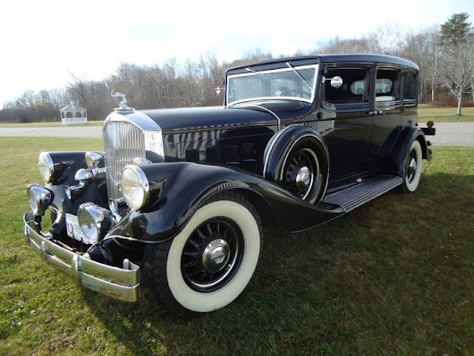 1933 Pierce-Arrow, once featured in Hemmings Classic Car, heads to auction | Hemmings Daily