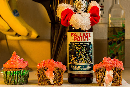 Victory at Sea Peppermint Cupcakes • Baking Brew