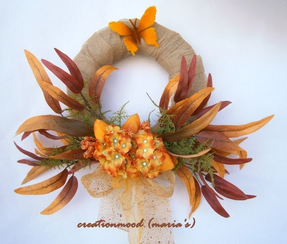 Fall wreath, autumn wreath,  fall thanksgiving decorating,  Autumn Wreath,  fall decor,  fall front door wreath,  Year round wreath