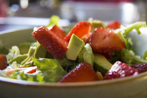 Strawberry Salad by lindseywb