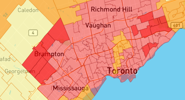 It's Official, Brampton Has The Highest Insurance Premiums ...