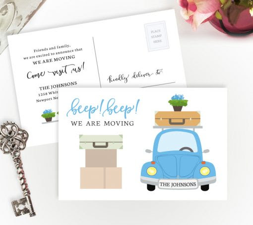 We Are Moving Cards | Personalized Moving Cards