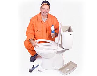 toilet repair plumber