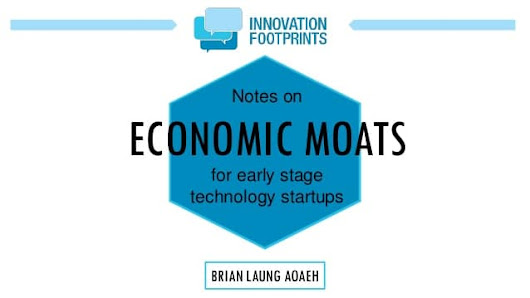 Startup barriers to entry - Economic Moats For Early Stage Startups and Investors - Alexander Jarvis