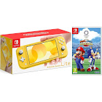Nintendo Switch Lite 32GB Yellow and Mario & Sonic Olympic Games 2020 Bundle