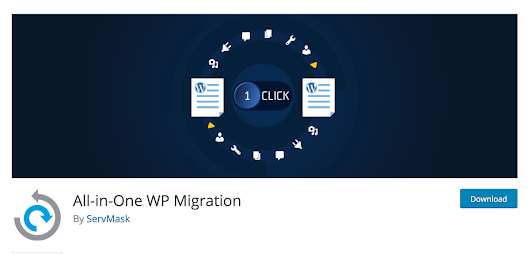 All-in-One WordPress migration