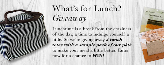 What's for Lunch Giveaway