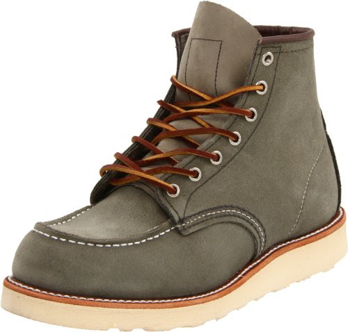 Red Wing Shoes Men's 6 Moc Toe Boot,Sage Mohave,8.5 D US