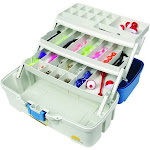 Plano Fishing Ready Set Fish 180 piece Tackle Box, Blue