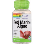 Solaray - Red Marine Algae, 375 mg, 100 Capsules