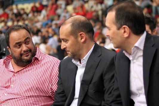 Βαγγέλης Μαρινάκης και Κωνσταντίνος Αγγελόπουλος στο ΣΕΦ! (ΦΩΤΟ)