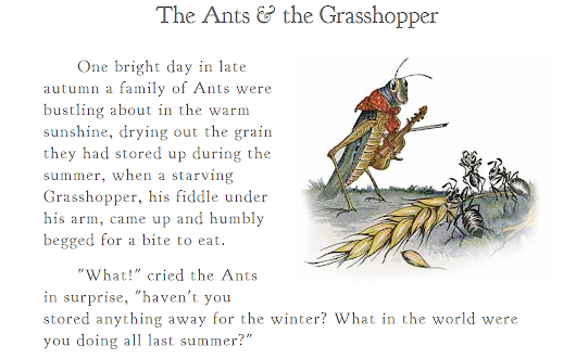 In making decisions, are you an ant or a grasshopper?