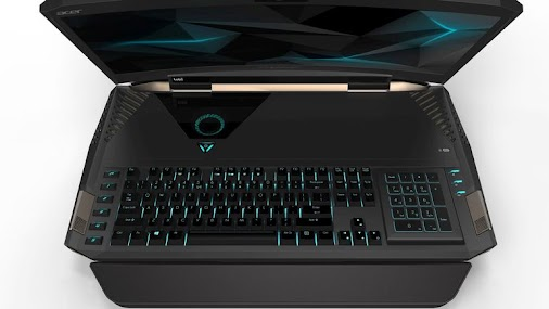 Acer Predator 21 X, curved screen and gamer monstrosity!