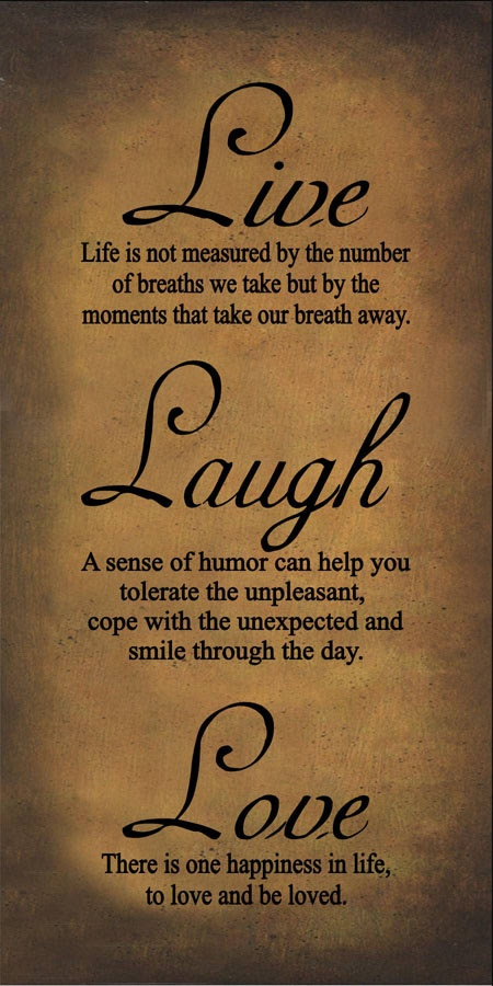 Live Laugh Love Quotes Live Love Laugh Birthday Quotes