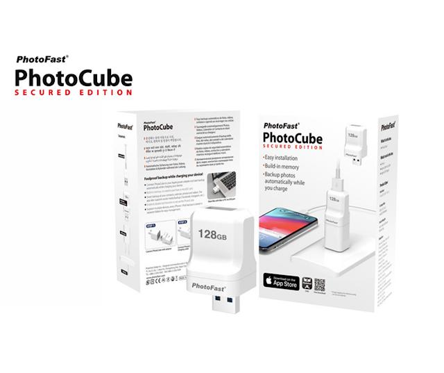 【Photocube SE】台灣製造的 iPhone備份好物 內置 128GB 同時 Backup 相+充電