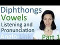 Vowels & Diphthongs - English Listening & Pronunciation Practice (Part 1)