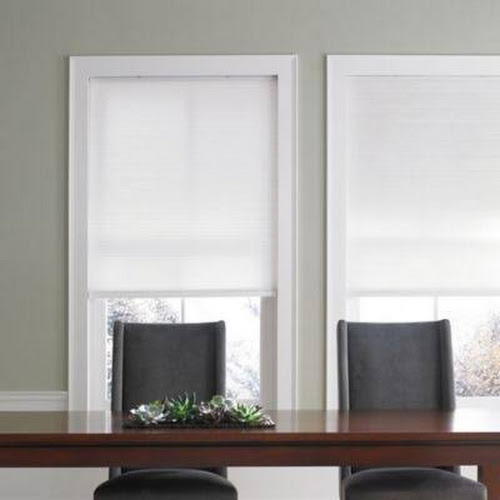 Real Simple Cordless Cellular 35 X 72 Shade In Snow